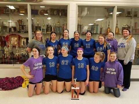 Clever JH Volleyball by Drew Hanafin
