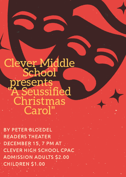 Middle School Play- December 15, 7 PM