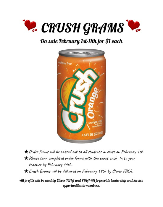 Crush Grams 2019