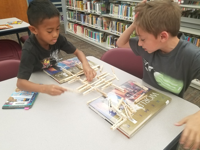 STEM in library