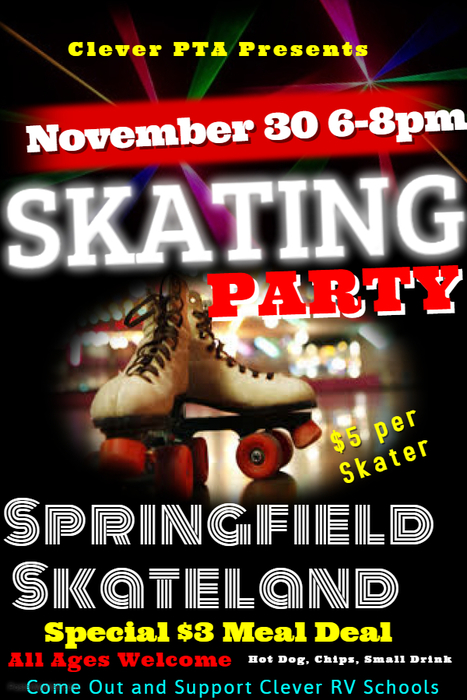 Skating Party Information